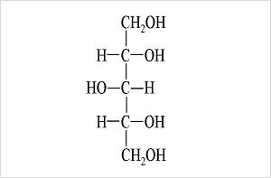 (図2)キシリトールの分子式